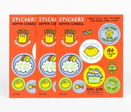 I Wish I Still Got Stickers for Doing Hard Stuff Vol 2