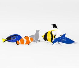 Aquarium - Paper Craft Calendar