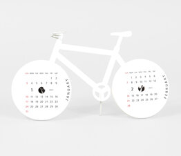 Bike - Paper Craft Calendar