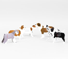 Dogs - Paper Craft Calendar