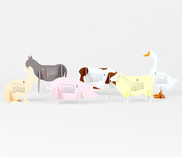 Farm - Paper Craft Calendar