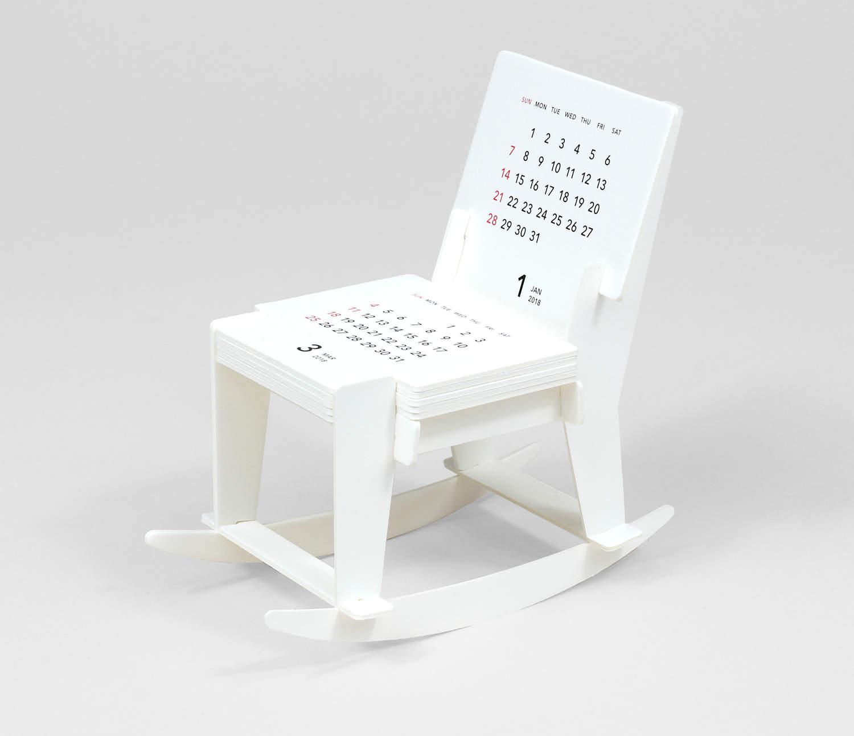 Good Morning Inc Rocking Chair Paper Craft Calendar at