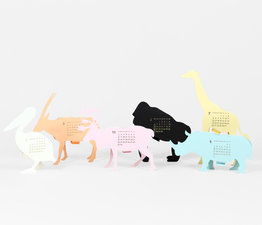 Safari - Paper Craft Calendar