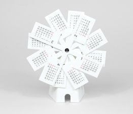Windmill - Paper Craft Calendar