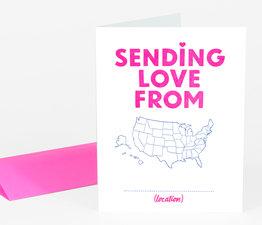 Sending Love From