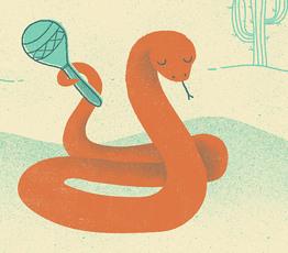 Snake & Maraca