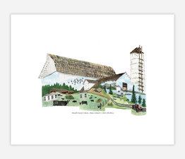 Biendl Farm & Barn, Shaw Island