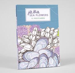 Sea Flowers Postcards