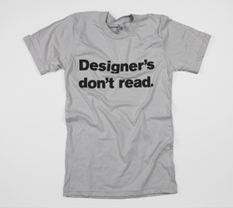 Designer's Don't Read