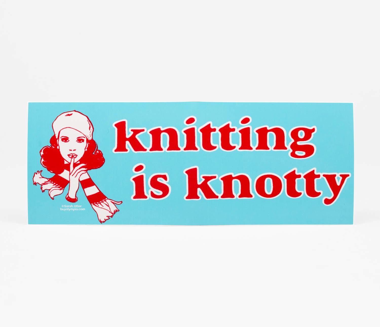 Knitting Knotty : Sarah utter knitting is knotty at buyolympia