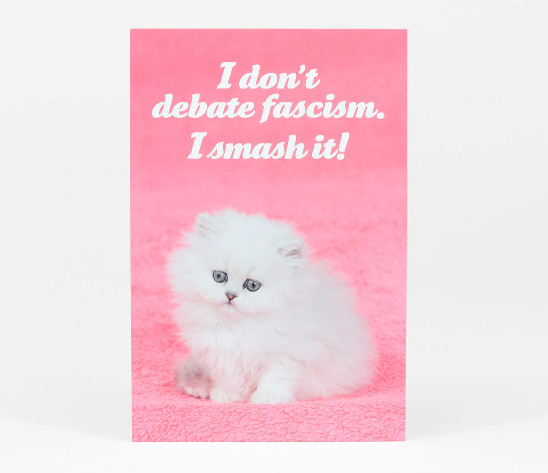 I Don't Debate Fascism  I Smash It!