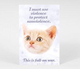 I Must Use Violence