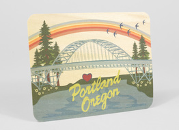 Portland Rainbow Bridge