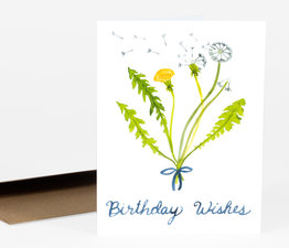 Dandelion Birthday Wishes