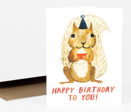 Happy Birthday Squirrel