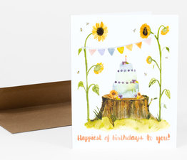 Sunflowers Birthday