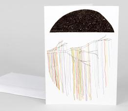 Cosmic Crochet Card