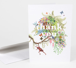 Thank You (Tree) Card