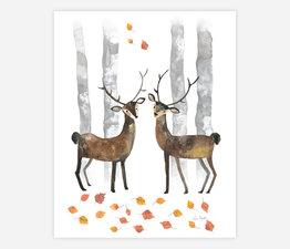 Autumnal Reindeer