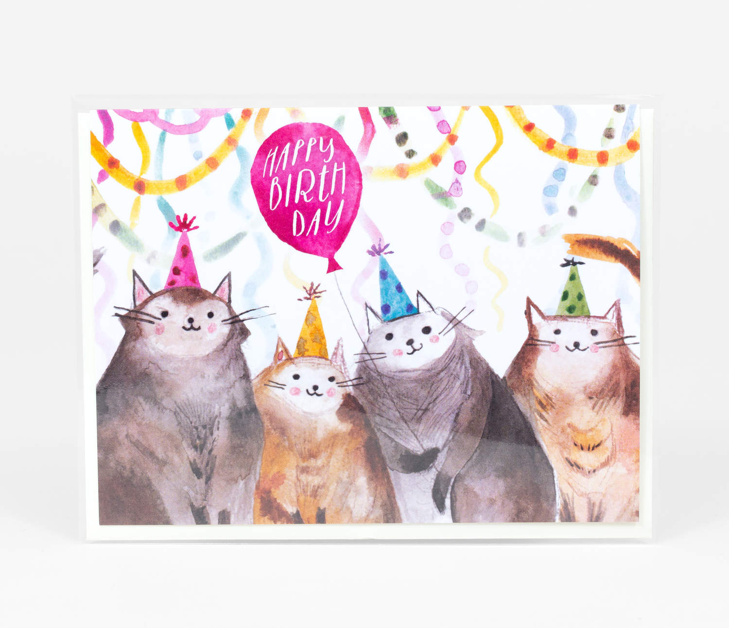 Loose Leaves Paper Goods Happy Birthday Cats At Buyolympia Com