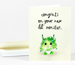 Congrats on Your New Lil Monster