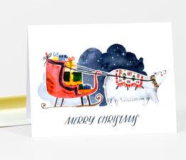 Merry Christmas Polar Bear