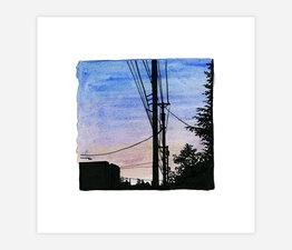 Inktober Skyline #3