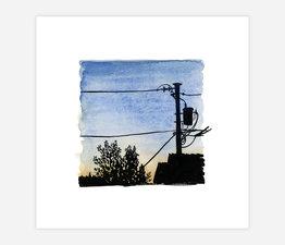 Inktober Skyline #6
