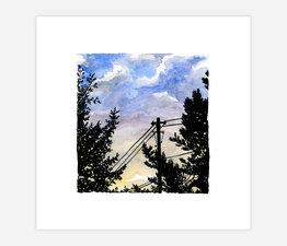 Inktober Skyline #8