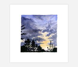 Inktober Skyline #9