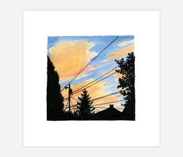 Inktober Skyline #12