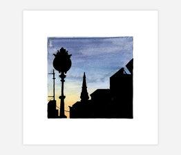 Inktober Skyline #13