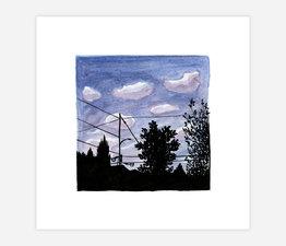 Inktober Skyline #15