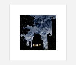 Inktober Skyline #16