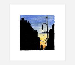 Inktober Skyline #17