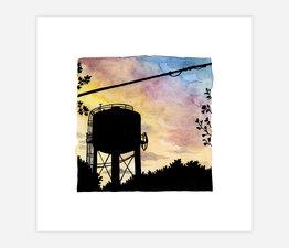 Inktober Skyline #20