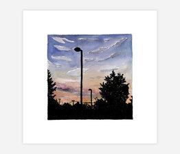 Inktober Skyline #23