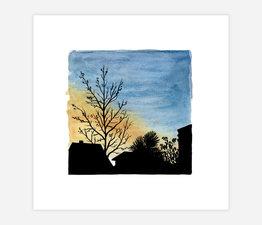 Inktober Skyline #25