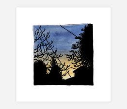Inktober Skyline #27