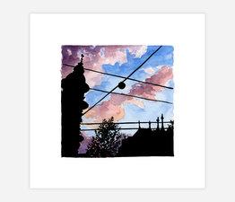 Inktober Skyline #28