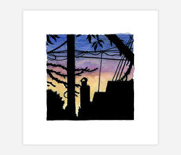 Inktober Skyline #30