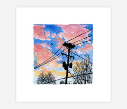 Inktober Skyline #31