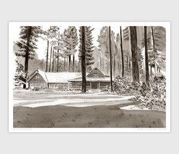 Silver Falls Lodge, Silver Falls State Park