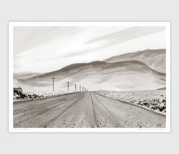 Fields-Denio Road, Alvord Desert