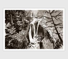 Triple Falls, Oneonta Gorge