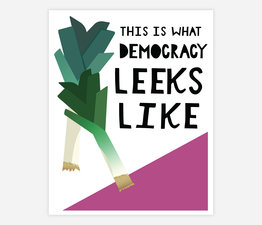 This Is What Democracy Leeks Like