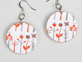 Orange and Grey Flowers