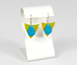 Yellow and Turquoise Triangle