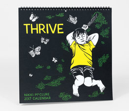 Thrive: 2017 Wall Calendar