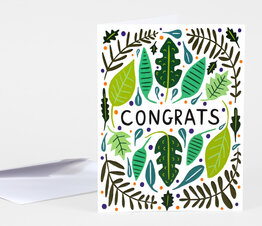 Congrats Leaves